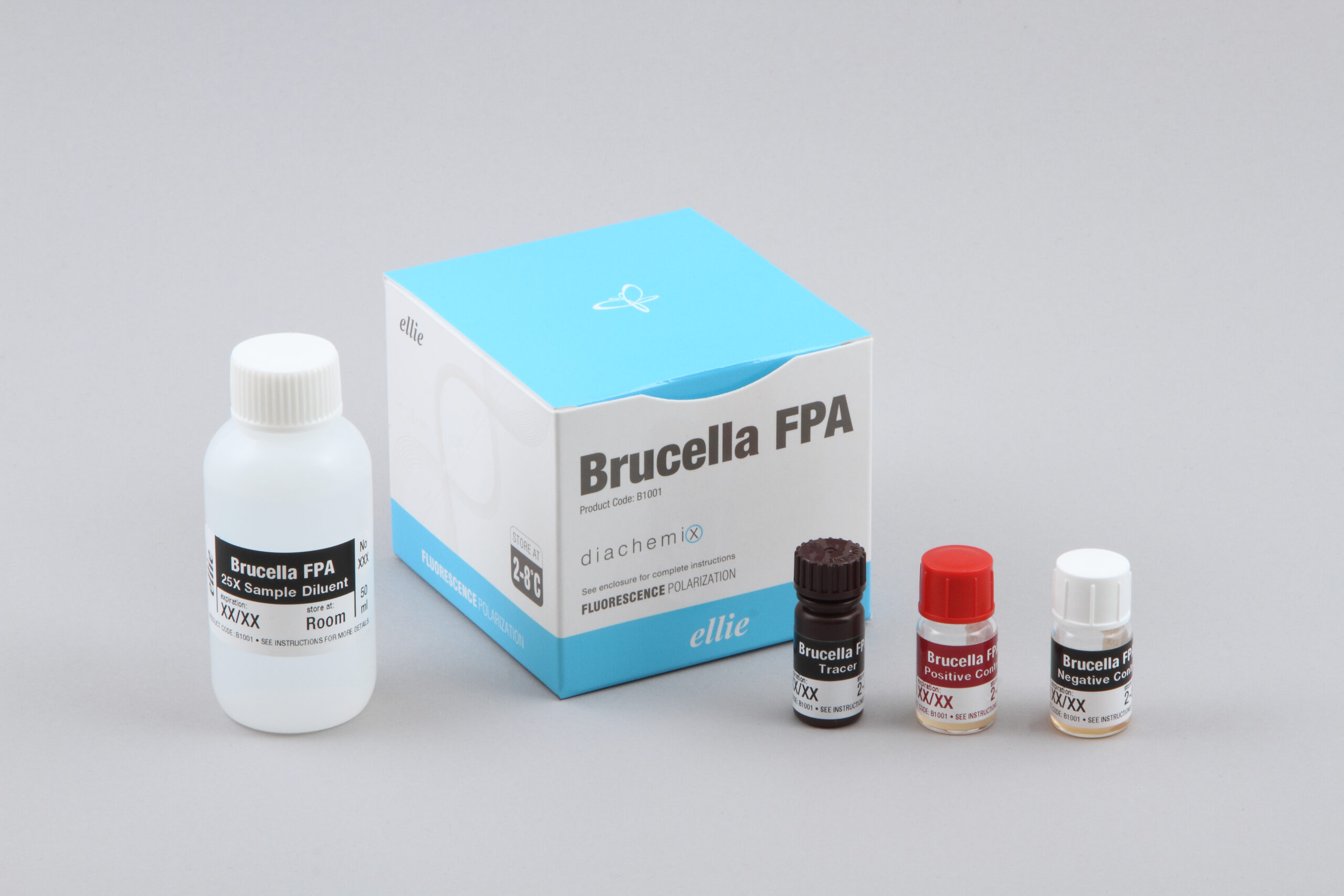 Brucella FPA kit in English